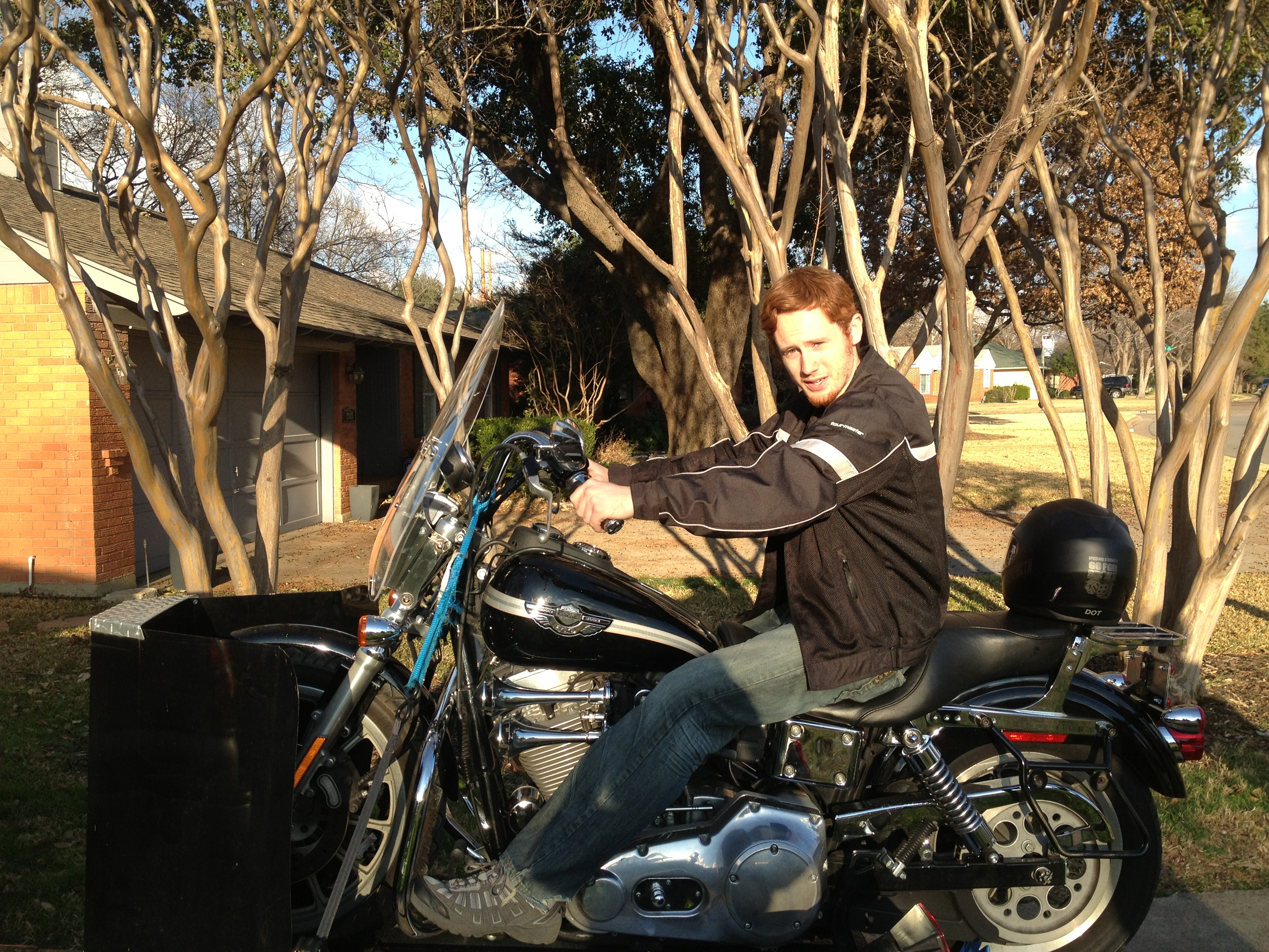 Caregivers and Harleys: The Art of Letting Go